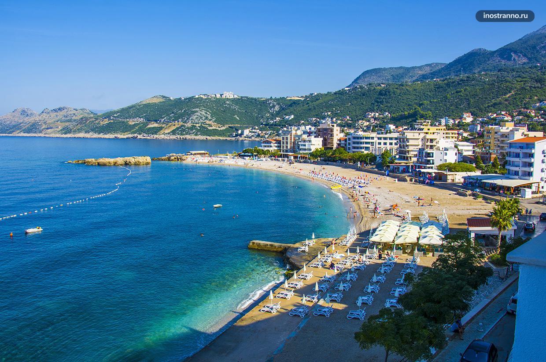 Добра-Вода самый дешевый курорт для отдыха в Черногории