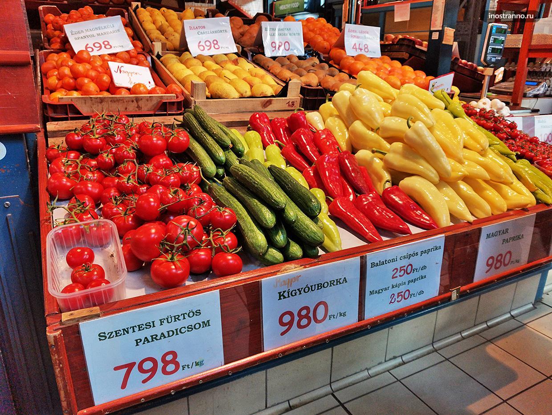 Фермерский рынок Будапешта
