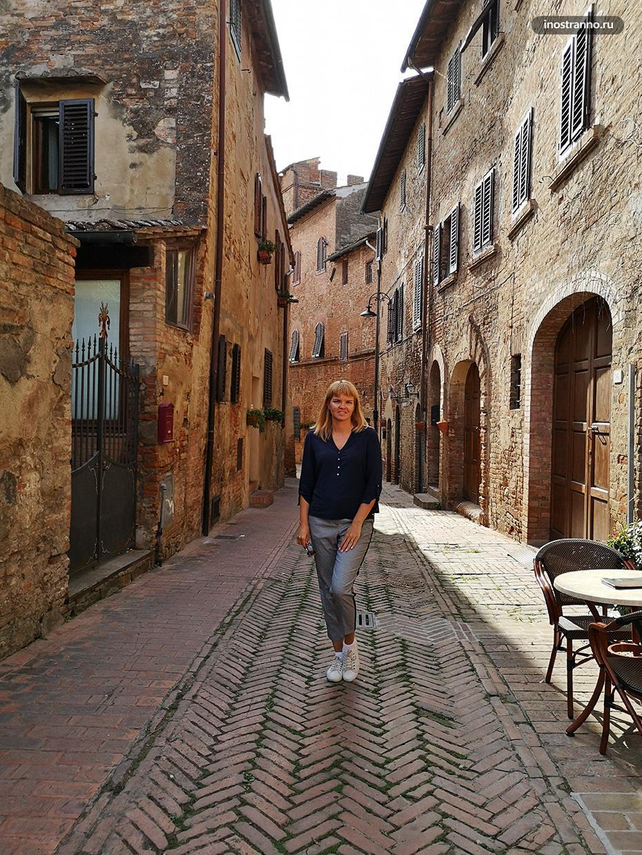 Итальянский город Чертальдо