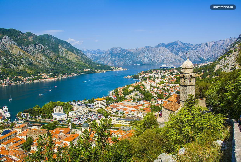 Котор самый красивый курорт и город Черногории