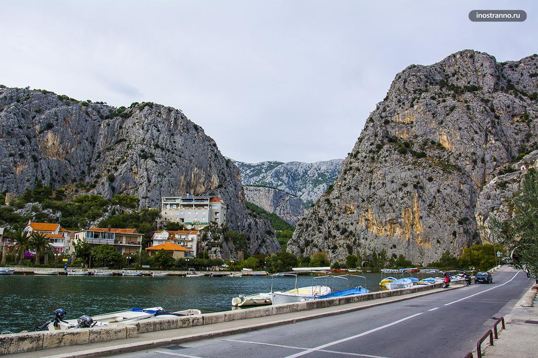 Река Цетина в Хорватии