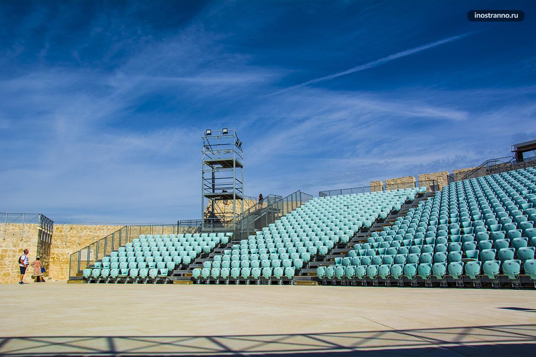 Концертный зал в крепости Шибеника