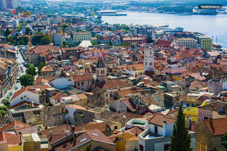 Хорватский город, место съемки Игры престолов