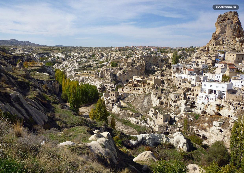 Гёреме интересный город в Каппадокии