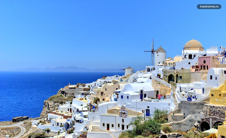 Остров Санторини самый красивый в Греции