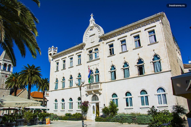 Венецианский дворец в Хорватии