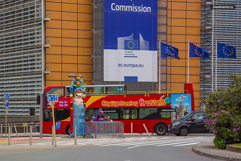 Брюссель на экскурсионном автобусе
