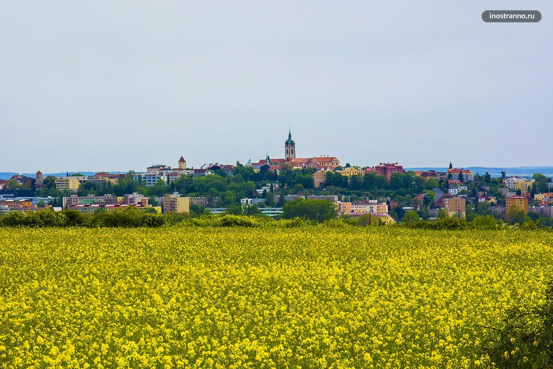 Чешский город Мельник