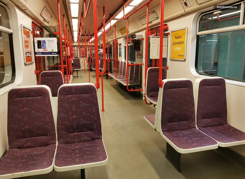 Пустое метро без людей