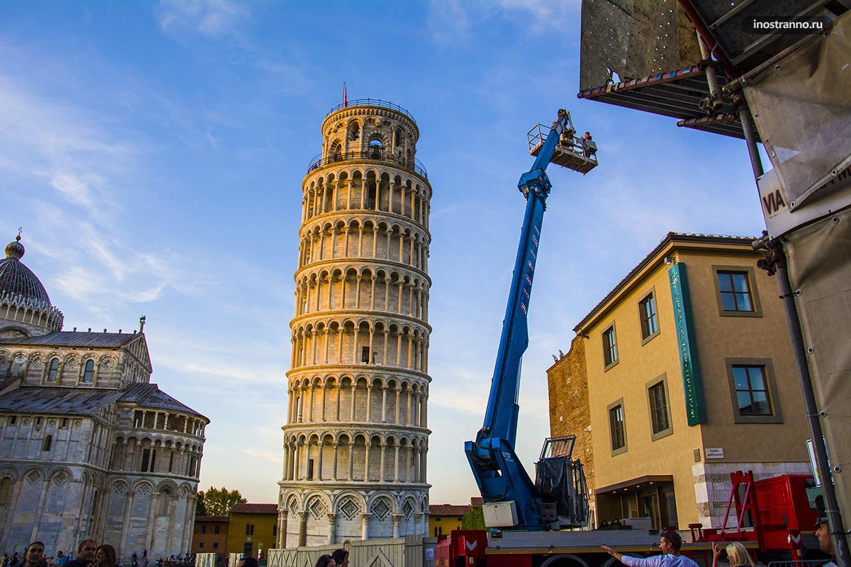 Экскурсия в Пизе