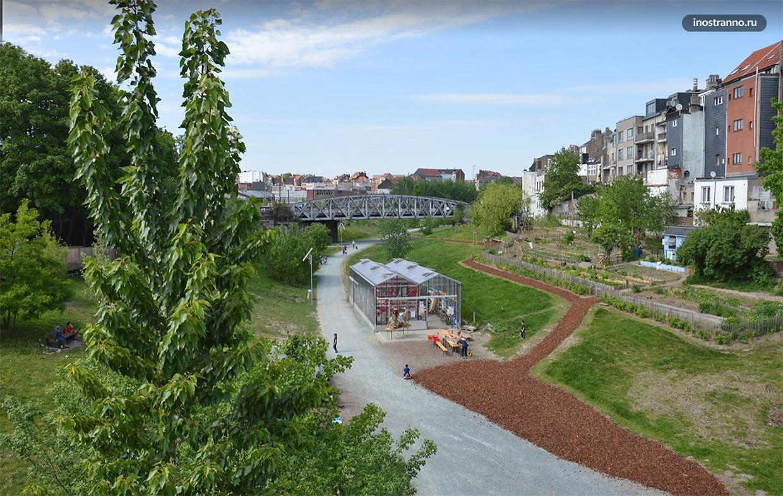 Парк Линь 28 в Брюсселе