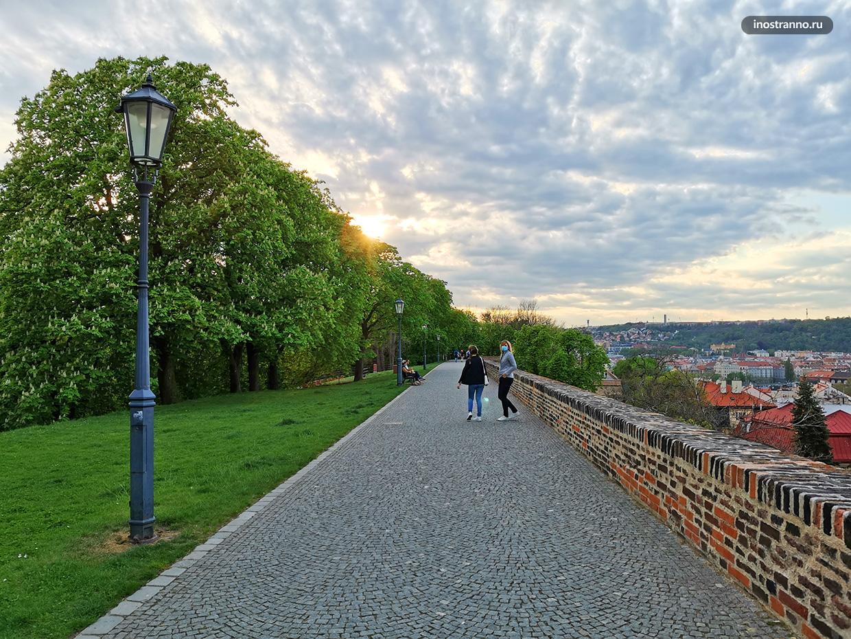 Самое тихое место в Праге