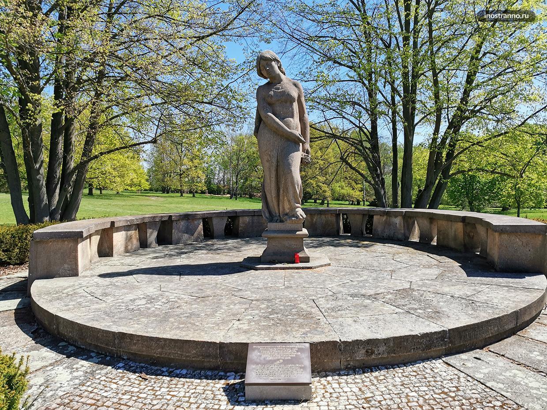 Скульптура в Лидице
