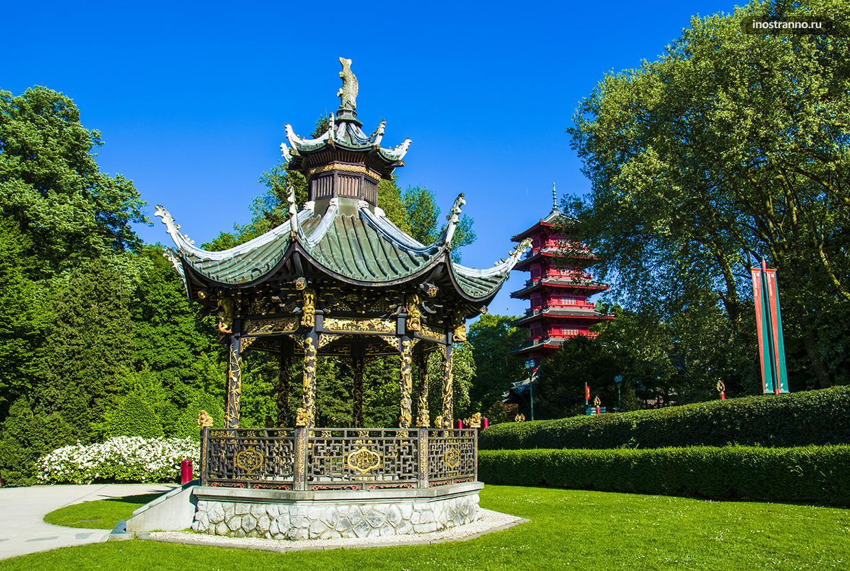 Парк Лакен в Брюсселе самый красивый