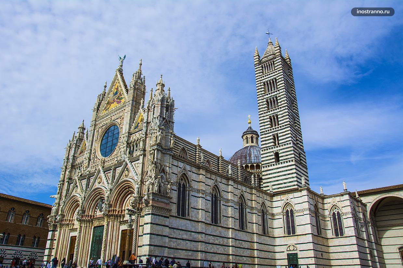 Сиенский собор один из красивейших в Италии