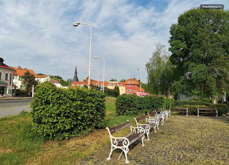Красивый парк в Чехии
