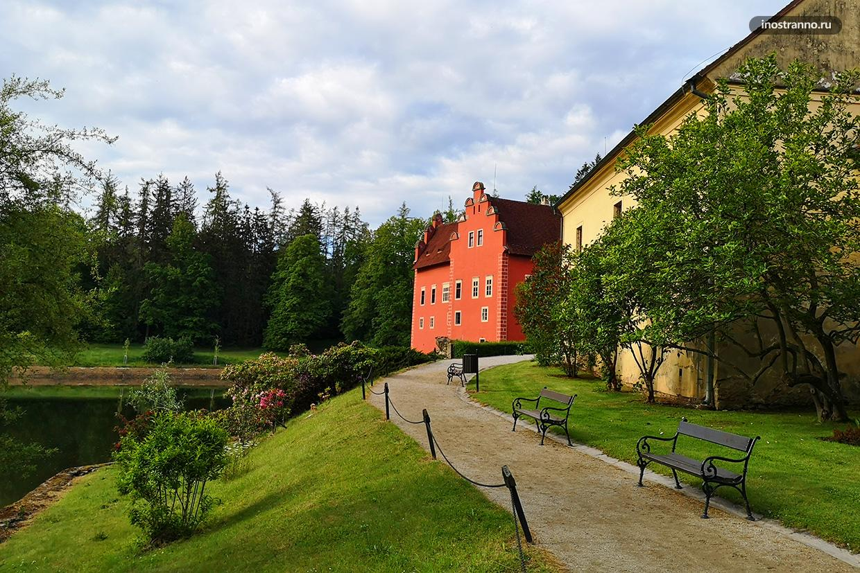 Богемский замок Червена-Лгота