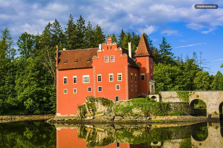 Замок в южной Чехии