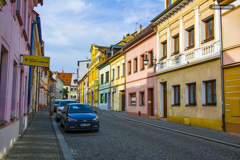 Небольшой город в Чехии Ческа-Липа
