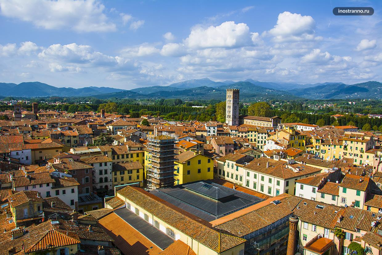 Уютный город Лукка в Тоскане