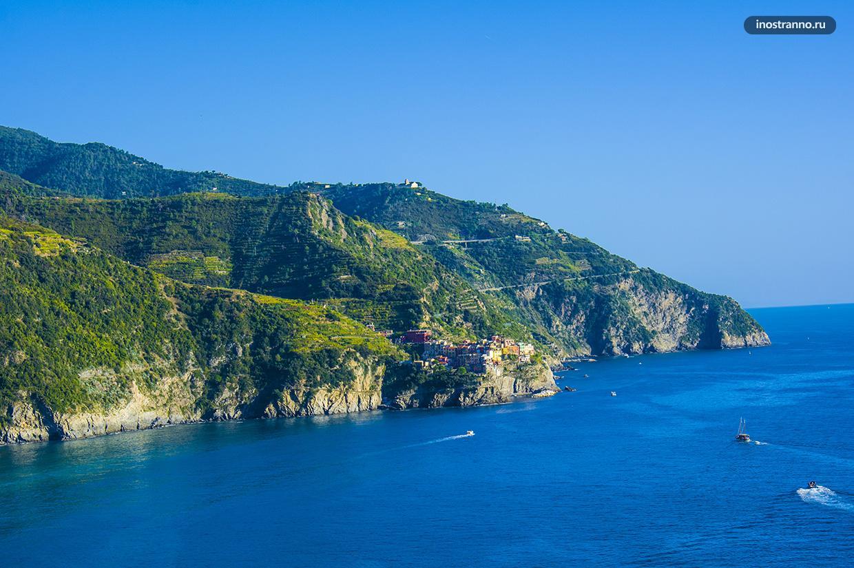 Панорама Лигурийского моря
