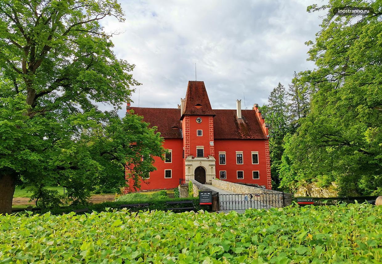 Самый красивый чешский замок Червена-Лгота