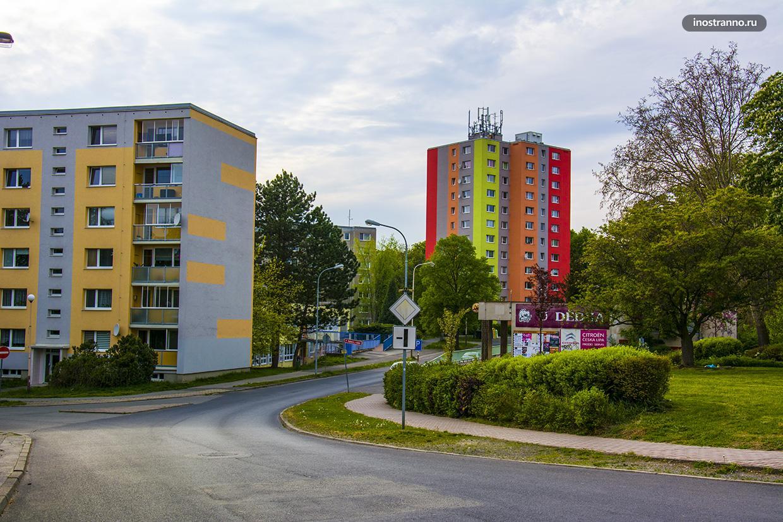 Панельные дома в Европе