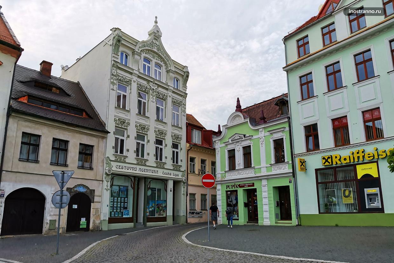 Небольшие чешские домики