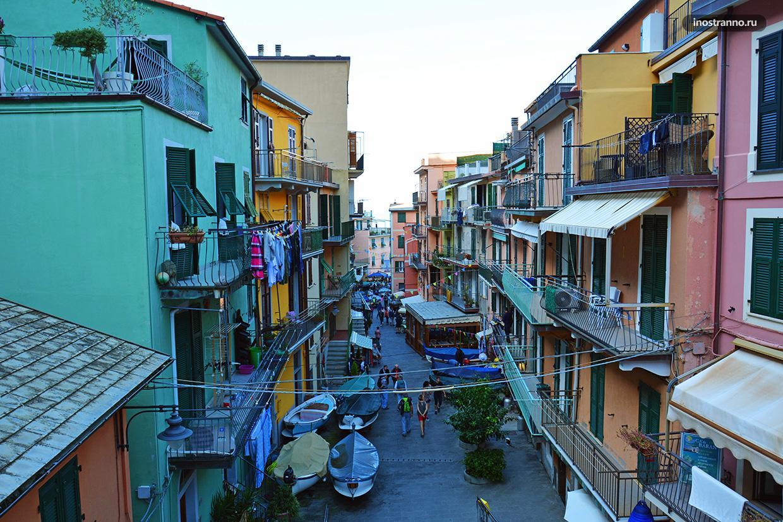 Итальянский город Манарола