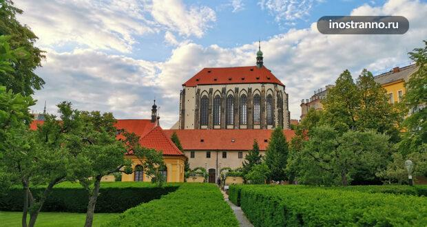Францисканский сад – островок спокойствия в центре Праги