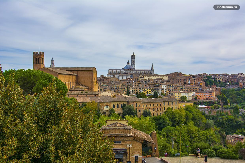 Панорама города Сиена