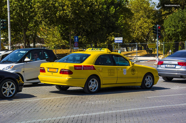 Такси из аэропорта Тираны