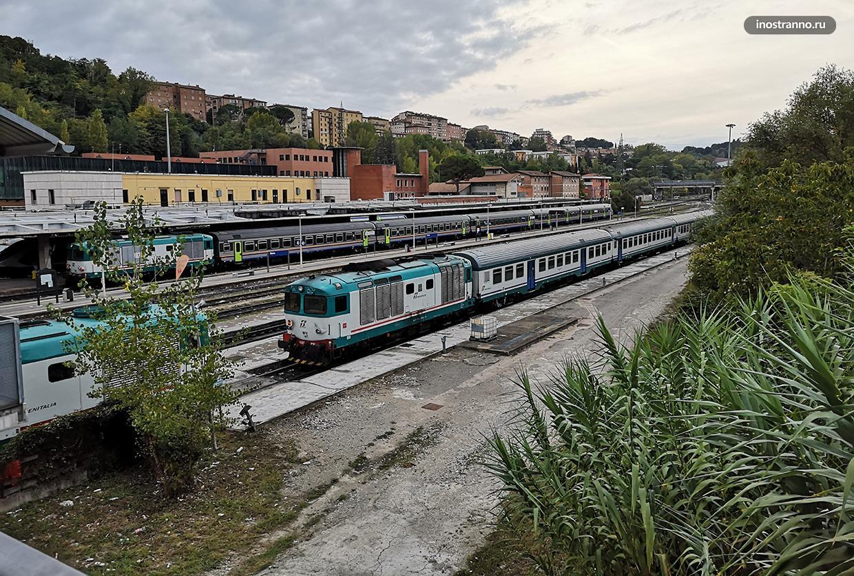 Жд вокзал в Италии