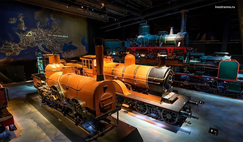 Железнодорожный музей Мир поездов