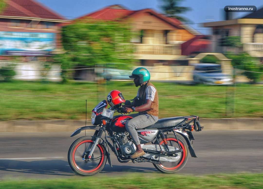Занзибар мототакси Бода-бода