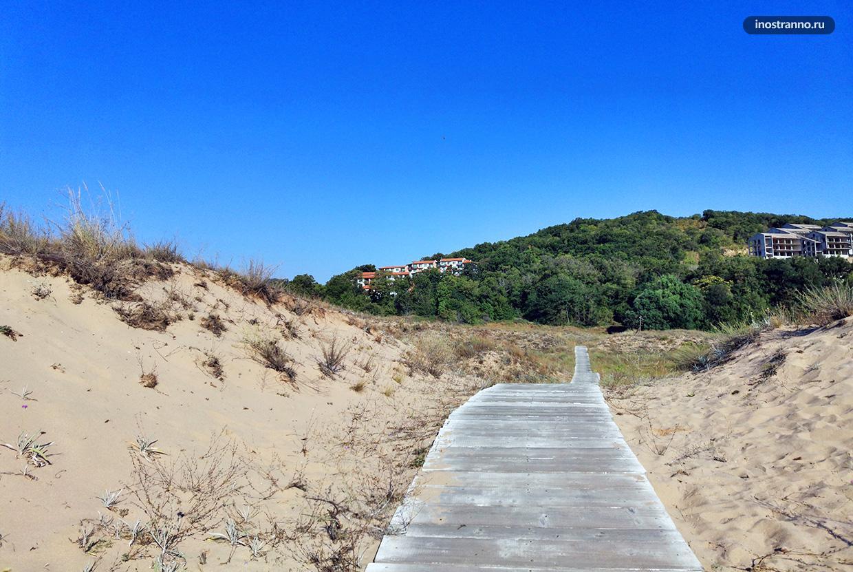 Песчаные дюны в Болгарии