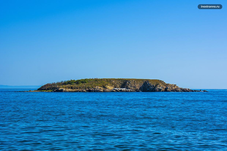 Остров Святого Томаса в Болгарии