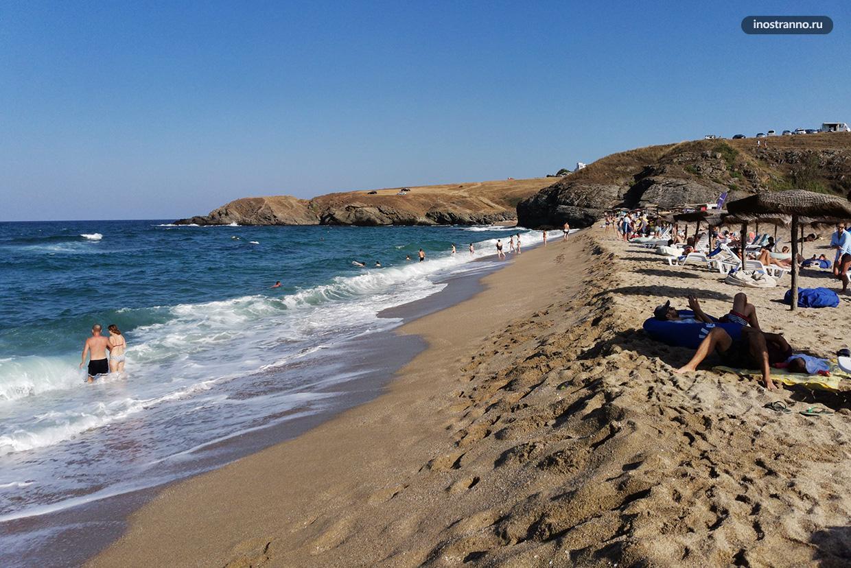 Пляж в Болгарии для серферов