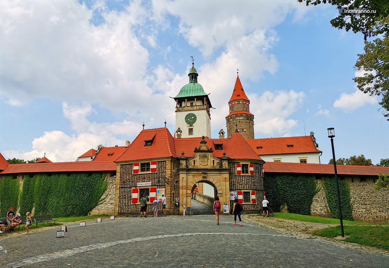 Чешский замок Боузов