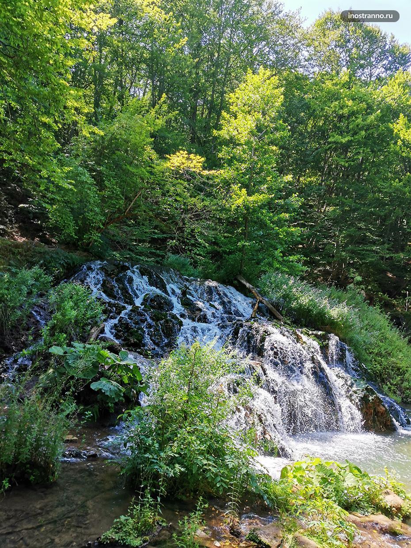 Водопад Докузак в Болгарии