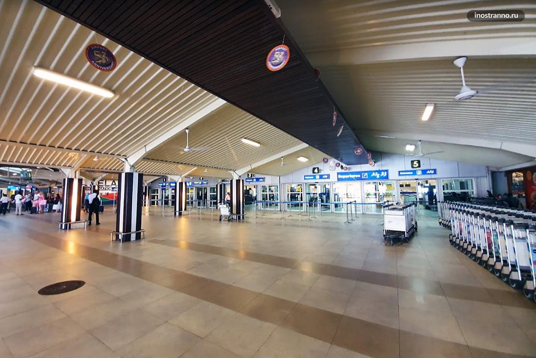 Терминал аэропорта Мале на Мальдивах