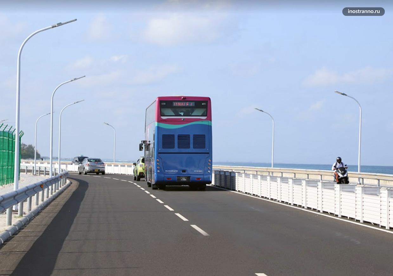 Городской автобус из аэропорта Мале