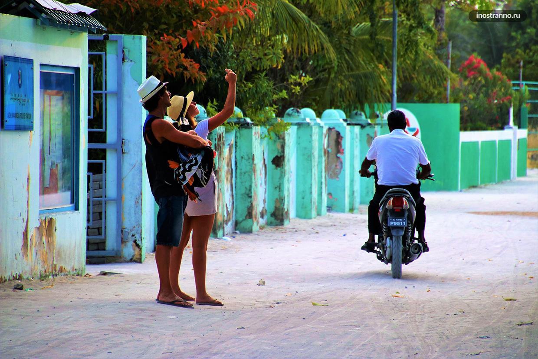 Дорога на Мальдивах