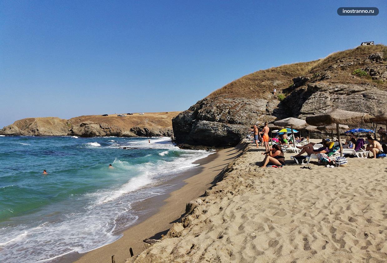 Пляж Велека в Синеморце
