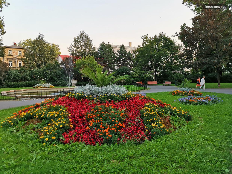 Лучший парк в чешском городке