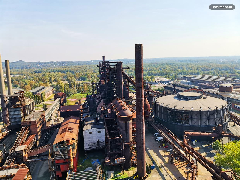 Промышленный комплекс Нижнее Витковице в Остраве