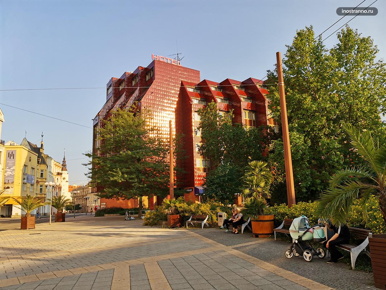 Koruna хороший отель в Опаве