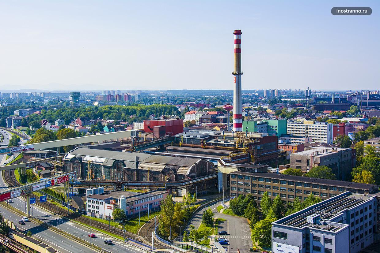Промышленная зона в Чехии