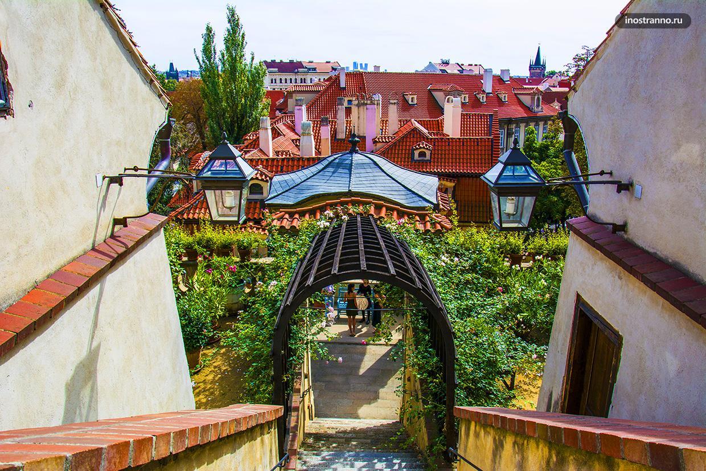 Самый очаровательный парк в Праге