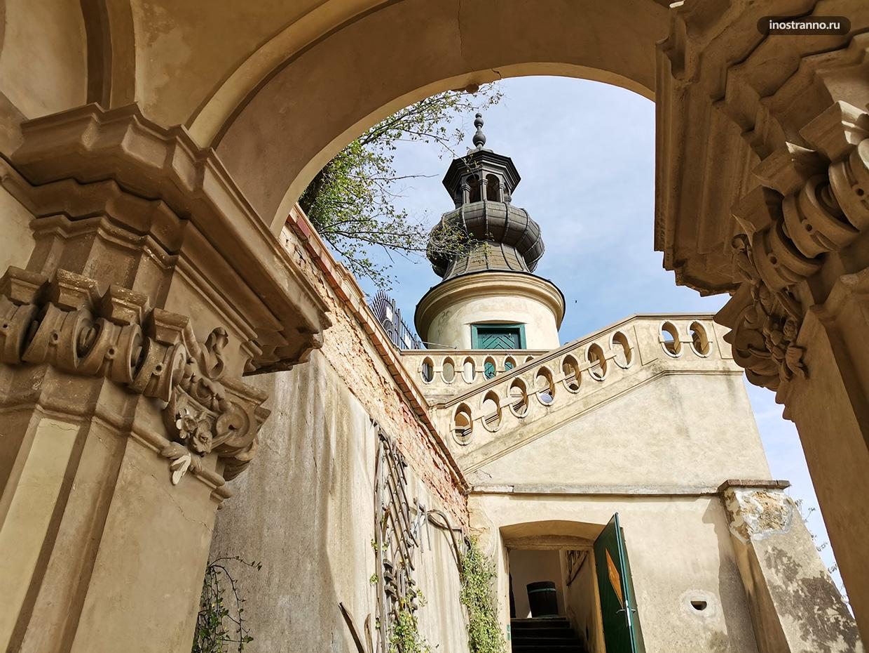 Архитектура Дворцовых садов под Пражским Градом